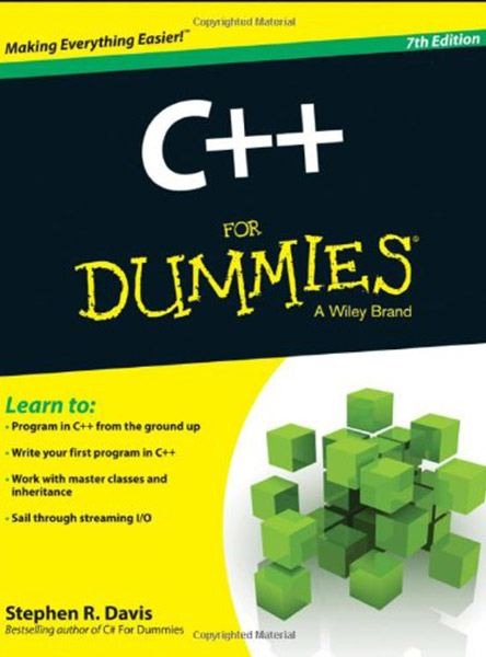 C++ For Dummies (7th Edition)